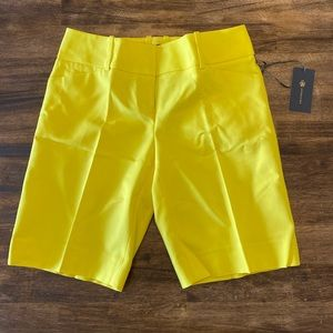 NWT OBR by The Limitied Yellow Size 2 Metro Shorts